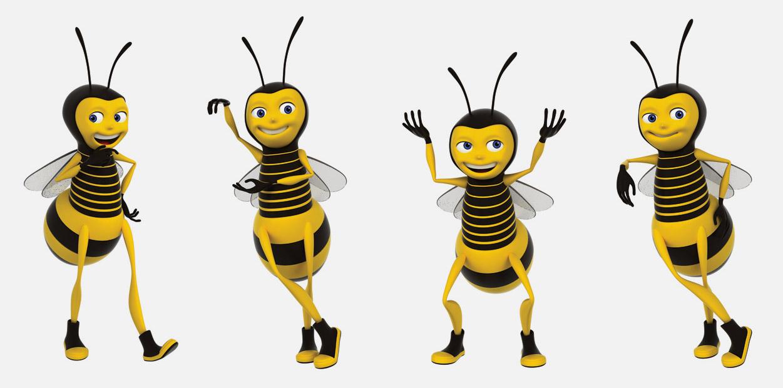 Mascota de marca BeeWork
