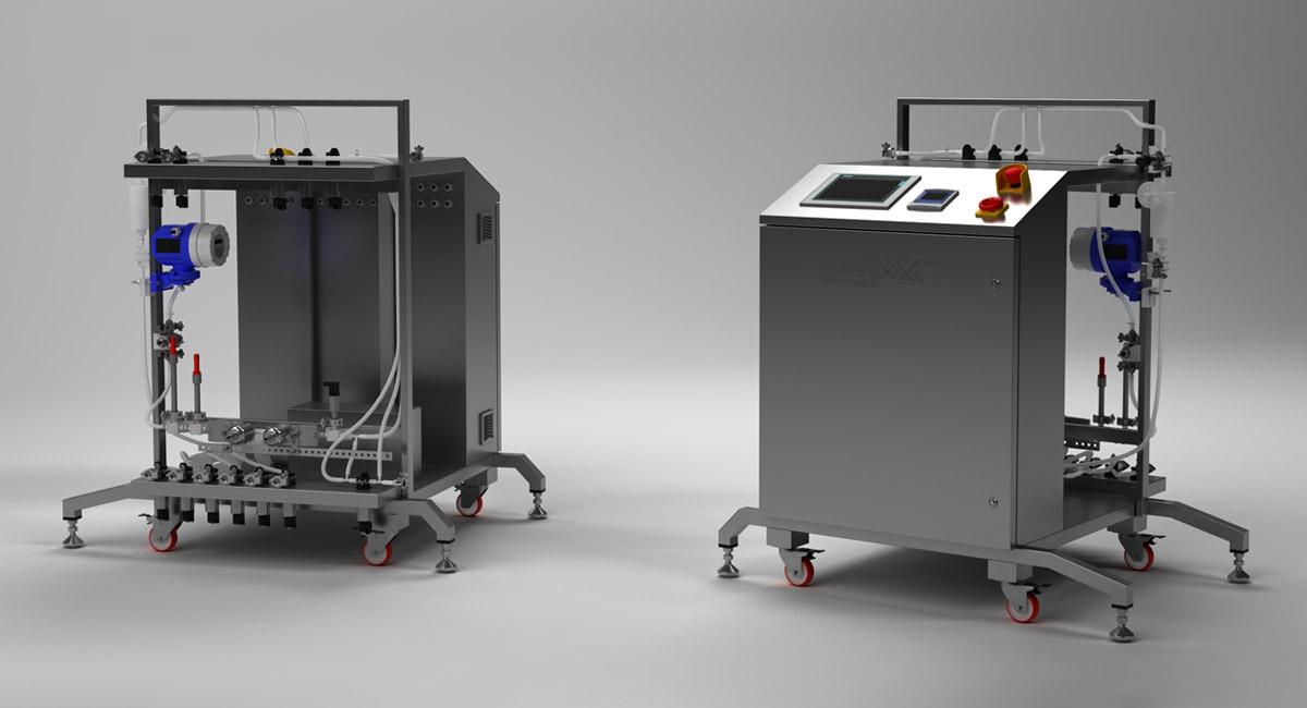 Cromatógrafo de procesos Puriteína