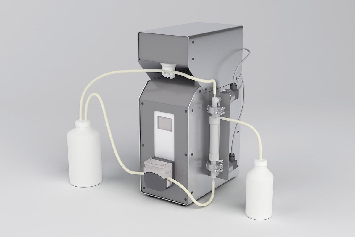 Unidad de filtración de flujo tangencial (TFF) Puriteina