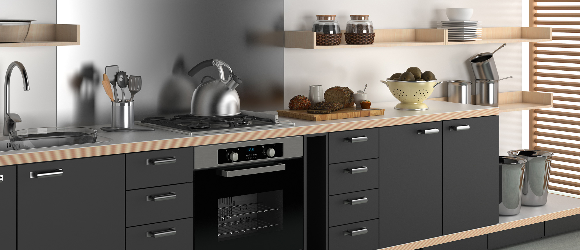 Fuga Ovens Cooktops And Range Hoods